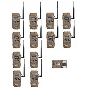 Cuddeback CuddeLink J Series Long Range IR Trail Camera (12-Pack) | 20 Megapixels | Built-In Wireless Network