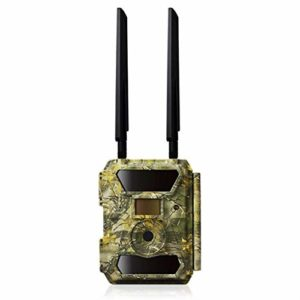 4G Wildlife Trail Camera GPS Hunting Camera 12MP 1080P HD Infrared Cam with Night Vision and LCD Display for Outdoor and Home Security Surveillance Game Trap Camera
