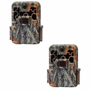 Browning Trail Cameras BTC-8E Spec Ops Edge 10MP Full HD Deer Hunt Scouting Infrared Game Trail Camera, Camo (2 Pack)