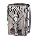 CHERRYSONG 2.0LCD Trail Camera-Waterproof 20MP 1080P Game Hunting Scouting Cam with 120°Detecting Range Motion Activated Night Vision for Outdoor Monitoring