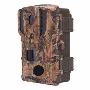 DOITOOL 1PCS 20MP 1080P HD Hunting Trail Camera with Night Vision Motion Activated Waterproof IP66 Outdoor Game Camera for Hunting Video Camera Outdoor Wildlife Watching (Without Battery)