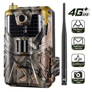 FRIDG Trail Camera 4G 16MP Hunting Trail Night Vision SMS/MMS/SMTP/FTP Waterproof Camera 1 pc
