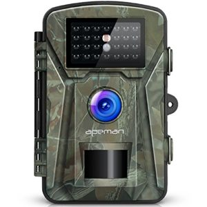 【NEW VERSION】APEMAN Trail Camera 12MP 1080P 2.4″ LCD Game&Hunting Camera with 940nm Upgrading IR LEDs Night Vision up to 65ft/20m IP66 Spray Water Protected Design