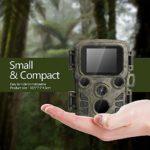 SIWEI Hunting Camera- Night Vision Hunting Camera, IP66 Waterproof,12mp 1080p Wildlife Camera Infrared IR LEDs Range up to 65ft
