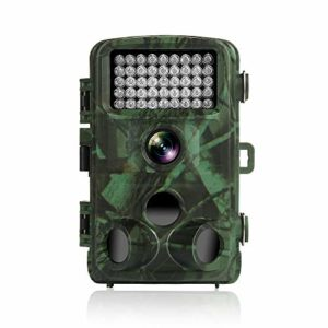 TEC.BEAN Trail Camera 12MP 1080P 2.4 Inch Color LCD Screen Full HD Game Hunting Camera With 120 Degree Wide Angle Plus 42PCS 940NM IR LEDs Night Vision Up To 75 Feet IP66 Waterproof Protected Design