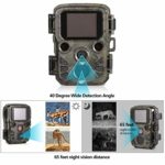Trail Game Camera, 12MP 1080P HD Wildlife Hunting Camera with Night Vision Motion, PIR Sensor, 0.45S Trigger Speed, IP66 Waterproof for Outdoor Scouting Wildlife Monitoring Trap
