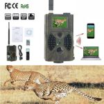 YOMENG Trail Camera with Night Vision Motion Activated, 1080P 12MP Hunting Cameras with Controller Suitable for Wildlife Monitoring and Home Security