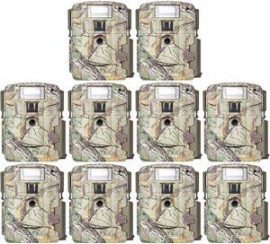 (10) Moultrie Xenon Strobe White Flash 14MP Mini Digital Trail Game Cameras| D80