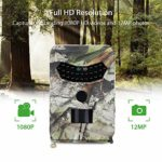 Aoile PR100 Hunting Camera Photo Trap 12MP Wildlife Trail Cameras for Hunting Scouting Game PR-100