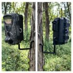 Highwild Trail Camera Holder Tree Screw Mounting Bracket – Pack of 3