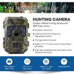 """2019 Advanced Trail Camera by Trail Shot 16MP 1080p (high Definition) Hunting Camera for Deer, IP66 Waterproof Game Camera Night Vision Motion Sensor Camera (Wide Angle View) 2.4"""" LCD Color Display"""