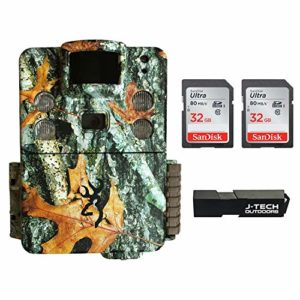 Browning Strike Force HD Pro X (2019) Trail Game Camera Bundle Includes 2 x 32GB Memory Card and J-TECH Card Reader (20MP) | BTC5HDPX