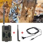 Horen HD Trail Camera 1080P Waterproof 2†Hunting Scouting Cam with a Infrared Sensors Security Motion Activated Camera Night Vision for Wildlife Animal Scouting Digital Surveillance