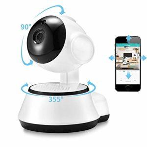 Home Security IP Camera Wireless Smart WiFi Camera WI-FI Audio Record Surveillance Baby Monitor HD Mini CCTV Camera ICSee (Plug Type : US Plug, Sensor Size : 1080P)