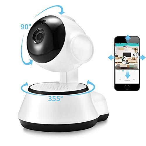 Home Security IP Camera Wireless Smart WiFi Camera WI-FI Audio Record Surveillance Baby Monitor HD Mini CCTV Camera ICSee (Plug Type : US Plug, Sensor Size : HD 720P)