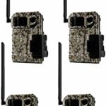 SPYPOINT Link Micro LTE V Verizon 4G Cellular Hunting Trail Game Cameras with Free 2 Year Warranty (4 Count)