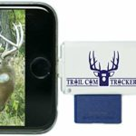 Trail Cam Tracker Trail Camera SD Card Reader for iPhone & Android – The BEST & FASTEST Game Camera SD Card Viewer – Smartphone Memory Card Reader – FREE Case (iPhone (all-in-one version))