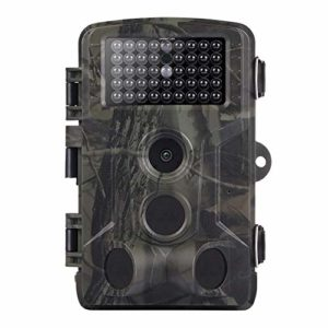Yuhoo Trail Game Camera, Hunting Wildlife Camera, 16MP 1080P Night Vision Infrared Trail Camera Video Photo Outdoor Wildlife Waterproof Hunting Camera, Home Security Surveillance