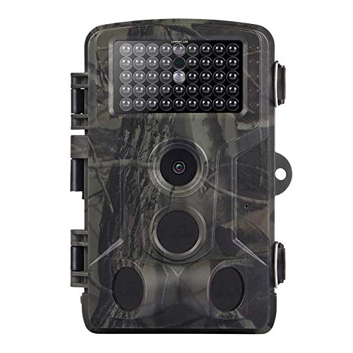 Yuhoo Trail Game Camera, Hunting Wildlife Camera, 16MP 1080P Night Vision Infrared Trail Camera Video Photo Outdoor Wildlife Waterproof Hunting Camera, Home Security Surveillance