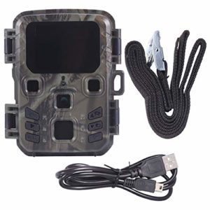 BESPORTBLE Trail Game Camera Night Vision 1080p Outdoor Hunting Camera Security Motion Activated Camera for Hunting Outdoor Without Battery