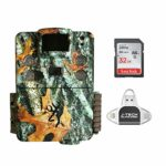 Browning Strike Force HD PRO X 2019 Trail Game Camera (20MP) with 32GB Memory Card and J-TECH iPhone/iPad/Android USB Memory Card Reader | BTC5HDPX