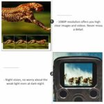 Cabilock Trail Game Camera 1080P Hunting Mini Cameras for Outdoor Wildlife Watching Without Battery