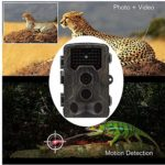 """KTYX Pro Trail Camera 16MP 1080P, Enhanced Night Vision, 0.3s Motion Activated, 2.0"""" LCD, Wildlife Game Camera Hunting Camera"""