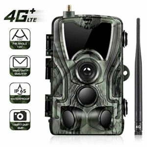 KTYX Trail Camera,1080P HD Wildlife Game Hunting Cam with Motion Activated Night Vision, 120° Wide Angle Lens, Waterproof Wildlife Camera for Outdoor Surveillance Hunting Camera
