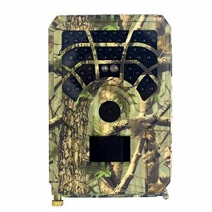 Kuinayouyi Hunting Camera 12MP PIR Night Vision Waterproof Trail Game Camera for Home Garden Wildlife Hunting Scouting Game