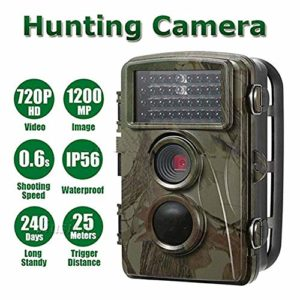 QARYYQ Hunting Camera Game Camera 12 Million Infrared Night Vision Waterproof HD Surveillance Camera Wildlife Reconnaissance Camera Wild Animal Camera
