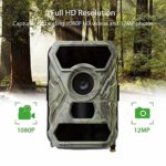 KTYX Cellular Trail Cameras – Outdoor WiFi Full HD Wild Game Camera with Night Vision for Deer Hunting, Security – Wireless Waterproof and Motion Activated Hunting Camera