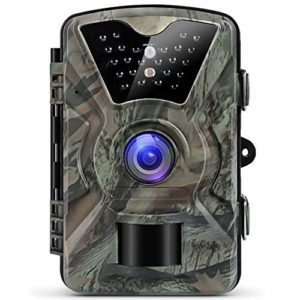 KTYX Game Camera 1080P 12MP Wildlife Camera Motion Activated Night Vision with 2.4 inch LCD Display IP66 Waterproof Design for Wildlife Hunting and Home Security Hunting Camera