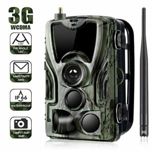 QARYYQ Camera Infrared Night Vision Up to 65 Feet / 20 Meters Trail Home Security (16MP 1080P) IP65 Waterproof Wildlife Camera Trap 2.0 Inch LCD for Outdoor Home Security Wild Animal Camera