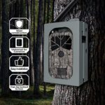 ScoutGuard Trail Game Camera Security Box Metal Safety Case Enclosure lockbox Anti-Theft Protective Cover Compatible for BG668/BG636/BG662/BG590/BG490/MG984G/MG983G/SG2060 Hunting Camera Outdoor
