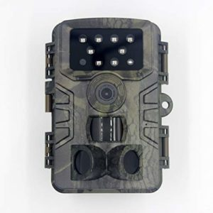 TiSkying Mini Trail Camera, 20MP 1080P HD Game Camera Wildlife Scouting Camera with Night Vision Motion Activated Waterproof