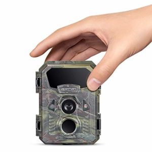 APEMAN Mini Trail Camera 16MP 1080P Waterproof Night Vision Game Camera for Wildlife Detecting, Home Security