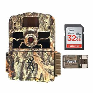 Browning Trail Cameras 18MP Dark Ops HD Max – Base Bundle (3 Items)