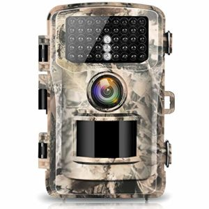 Campark Trail Camera 12MP 1080P 2.4″ LCD Game Camera Motion Activated Wildlife Hunting Cam IR LEDs Night Vision up to 75ft/23m IP56 Waterproof (New Version)