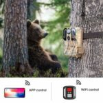 Campark WiFi Trail Camera and SD Card Reader Bundle