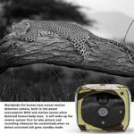 Essenc Solar Powered 1080P Trail Game Camera, Ip65 Waterproof WiFi Hunting Camera 850Nm Infrared Night-Vision Motion Activated Sensor Wildlife Camera