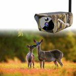 Gaoominy Solar Powered 1080P Trail Game Camera, Ip65 Waterproof WiFi Hunting Camera 850Nm Infrared Night-Vision Motion Activated Sensor Wildlife Camera