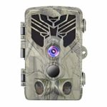 okuya Game Camera, Waterproof 16MP 1080P Game Hunting Scouting Cam with 3 Infrared Sensors for Wildlife Monitoring, Hunting Cameras with Night Vision Motion Activated