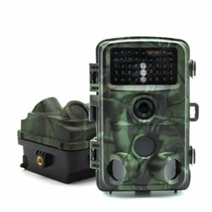 Rsiosle Wildlife Trail Camera HD 1080P 12MP Trail Game Camera Remote Monitoring Night Vision Motion Detection Ultra Long Standby IP56 Waterproof
