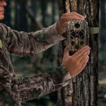 TIDEWE Trail Camera with 32GB SD Card, 32MP 4K Hunting Camera with 0.2s Trigger 3 PIR, 120° Range Night Vision 45 LEDs Waterproof Scouting Camera for Wildlife Monitoring, Home Security, Tree