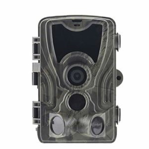 """Trail Camera-Waterproof 16MP 1080P Game Hunting Scouting Cam with 3 Infrared Sensors for Wildlife Monitoring with 120°Detecting Range Motion Activated Night Vision 2.4"""" LCD 42pcs"""