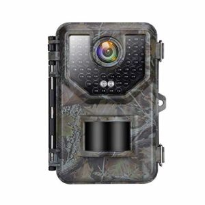 "【2020 Upgrade】 1080P 16MP Trail Camera, IP66 Waterproof Hunting Camera with 2.4""LCD 120°Wide-Angle Night Vision 0.2s Trigger Time, Game Camera with 940nm No Glow 48pcs for Wildlife Monitoring"