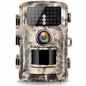 Campark Trail Camera 16MP 1080P 2.0″ LCD Game & Hunting Camera with 42pcs IR LEDs Infrared Night Vision up to 75ft/23m for Wildlife Scouting Digital Surveillance Waterproof IP56 (Renewed)
