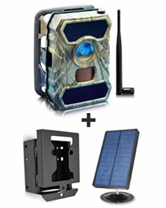 PRO3 Cellular Trail Cameras + Solar Panel Kit + Security Metal Bear Box