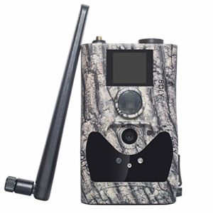 ScoutGuard 4G Cellular Trail Cameras – Outdoor 24MP 1080P Full HD Wild Game Scouting Camera with Night Vision for Deer Hunting, Security – Wireless Waterproof and Motion Activated Black IR no Glow