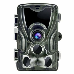Suntekcam Trail Game Camera 20MP 1080P Wildlife Camera with 80ft Night Vision 0.3S Trigger Motion Activated IP65 Waterproof No Glow for Outdoor Wildlife Hunting